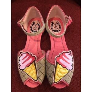 Miss L-Fire novelty ice cream sandals